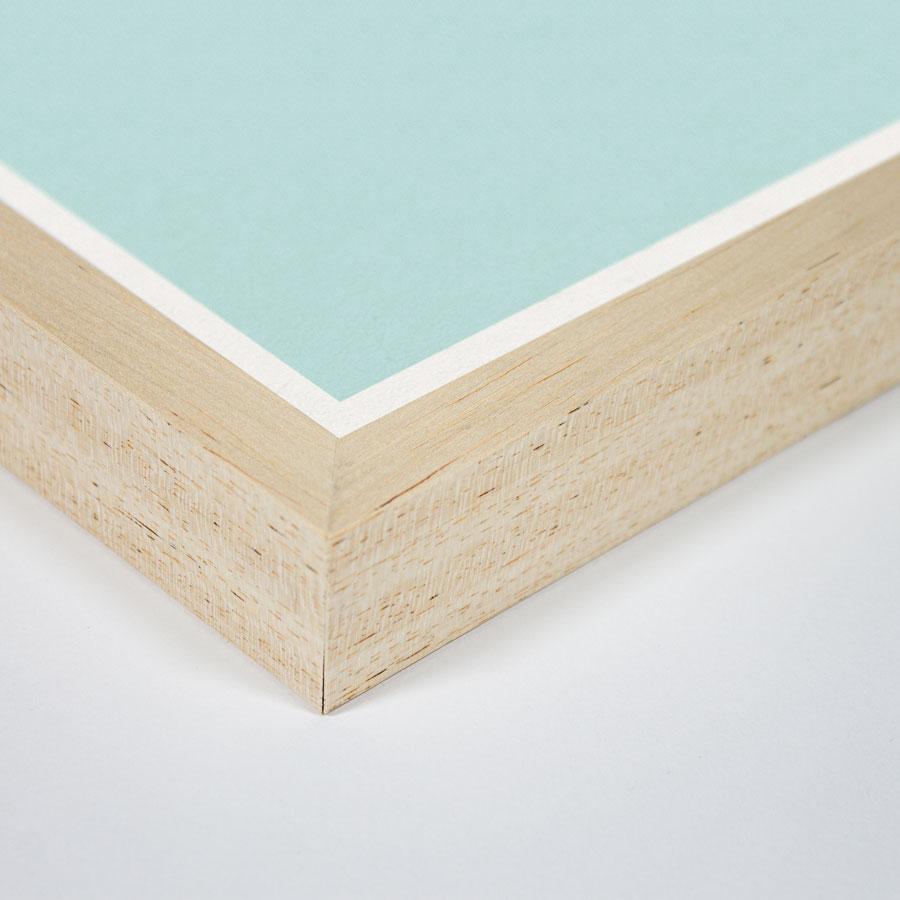 zoom cadre bois phare bois flotté