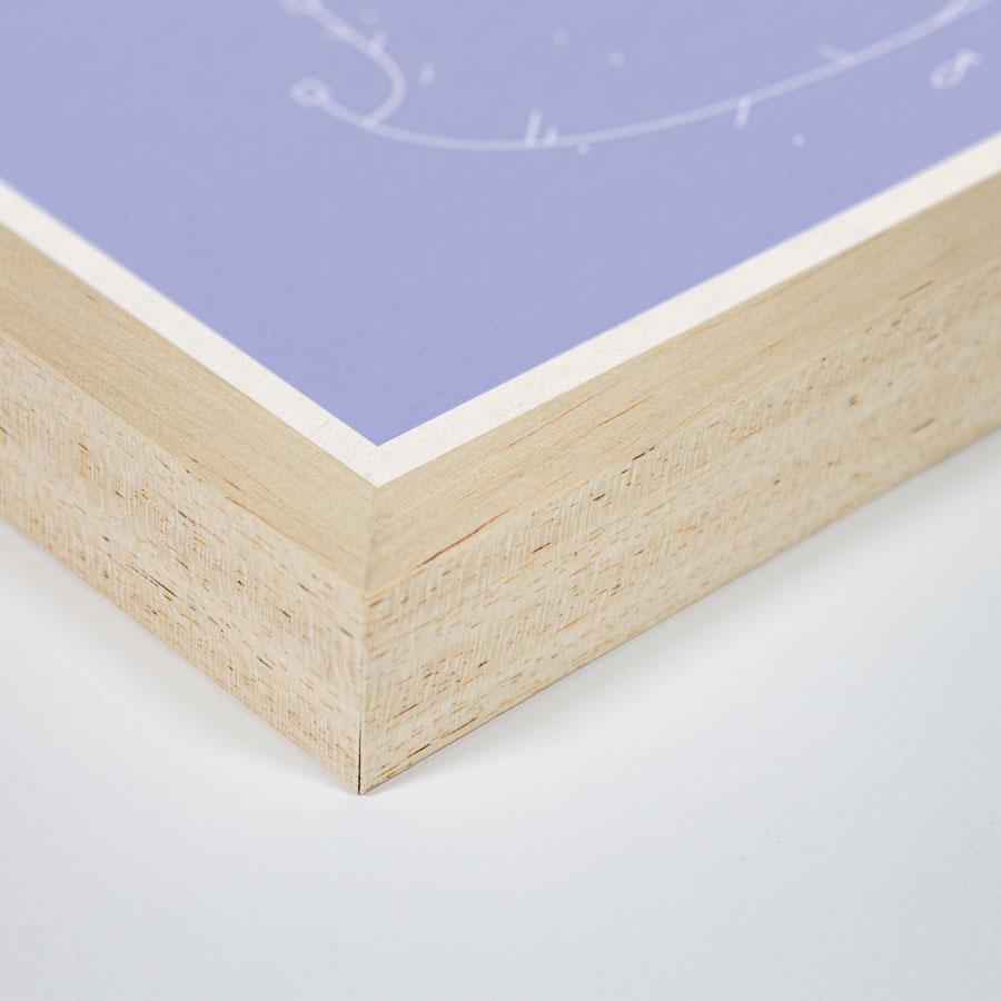 zoom cadre bois pagure